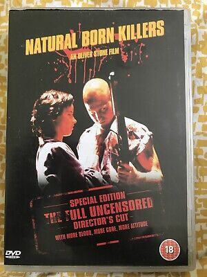 Natural Born Killers (DVD, 2003, Director's Cut) Woody Harrelson Juliette Lewis • 1.50£