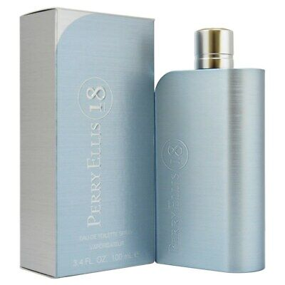 $24.63 • Buy Perry Ellis 18 By Perry Ellis 3.4 Oz EDT Cologne For Men New In Box