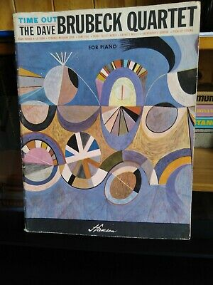 Dave Brubeck Quartet- TIME OUT.  Rare Piano Sheet Music Book. FREE POST. • 13.99£