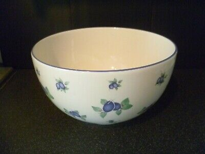 Royal Doulton Every Day Blueberry Large Serving Bowl • 14.99£