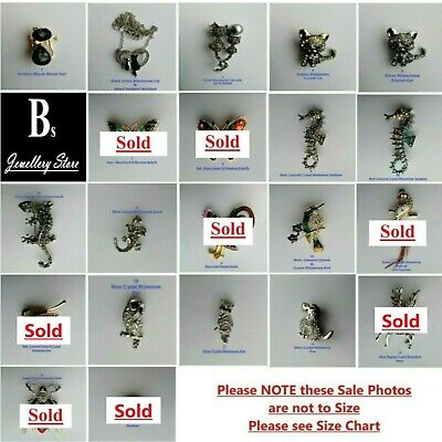 Brooch's Crystal & Rhinestones Animal & Insect  • 4.98£