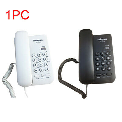 Hotel Caller ID Home Office Loud Sound Business Corded Telephone Wall Mounted • 12.41£