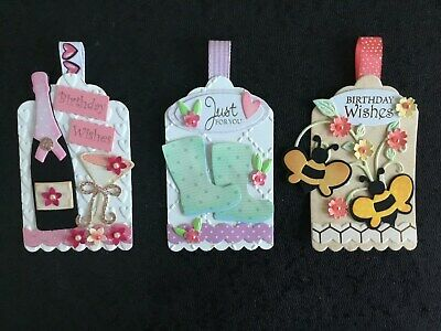 Luxury Mixed Female Birthday Card Toppers (E3) • 2.50£