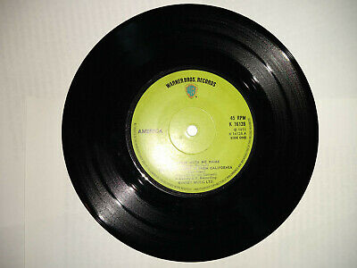 """Record 7"""" Single America A Horse With No Name 1971 • 0.99£"""