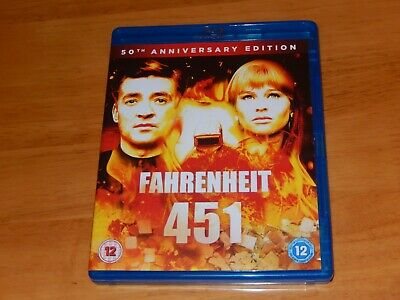 Fahrenheit 451 Blu-ray 50th.   Watched Once From New.   Very Good Condition • 6.49£