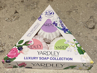 Yardley Luxury Soap Collection Gift Set • 3.95£