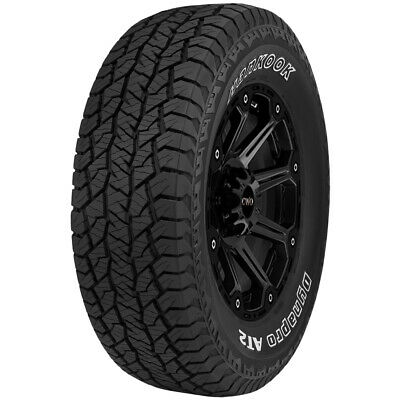 $616.96 • Buy 4-255/65R16 Hankook DynaPro AT2 RF11 109T SL/4 Ply OWL Tires