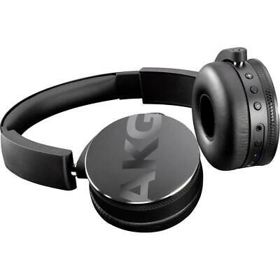 AKG Y50BT Wireless Foldable Headphones With Mic & Volume Control Black GUARANTEE • 53.99£