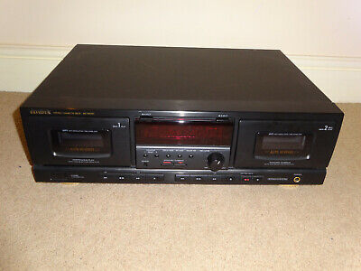 AIWA AD-WX727 Twin Cassette Deck Dolby B, C & Hx-Pro - Working - SEE VIDEO • 59.95£