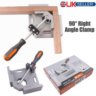 90 Degree Right Angle Clamp Woodworking Corner Clamp Vice Grip Wood Welding Tool • 8.99£