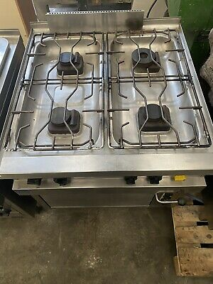 Stainless Steel 4 Gas Burner & Oven Commercial MKN • 233£
