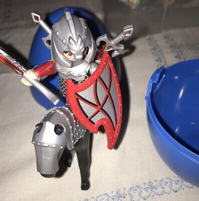 Playmobil 4937 Fire Knight On Horse Easter Egg Format • 10£