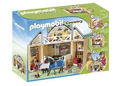 Playmobil 5418 Country Farm, Horse + Stables, Brand New Unopened, Fast Delivery • 36.50£