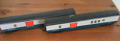 Hornby Triangle OO Gauge BR Royal Mail TPO Coach X 2 • 9£
