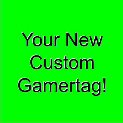 $ CDN124.89 • Buy New Custom Xbox Gamertag *You Pick Everything About It!*  Take A Look
