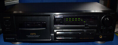 Aiwa Ad-f450 Stereo Cassette Deck  - Dolby B And C, Hx Pro - Amts • 57.99£