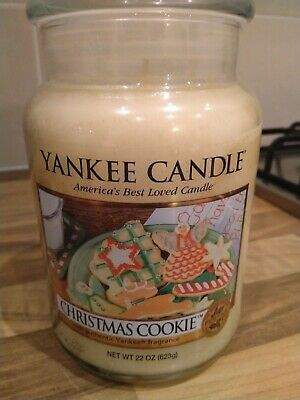 Yankee Candle  Christmas Cookie  FESTIVE.  Large Jar • 16£