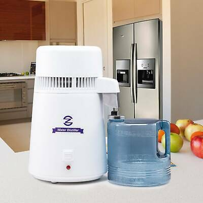 £53.89 • Buy 4L Stainless  Steel Water Distiller Pure Water Filter Purifier Medical Home Labs