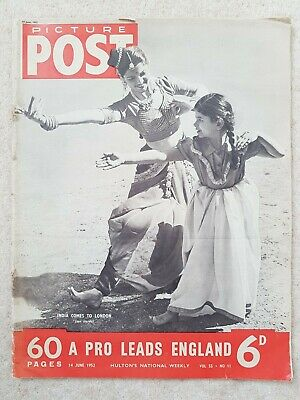 Picture Post Magazine 14th June 1952 Volume 55, No. 11 • 4.99£