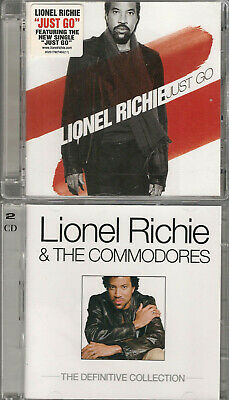 2 Lionel Richie CD Albums - Just Go & The Definitive Collection (+ Commodores) • 3.85£