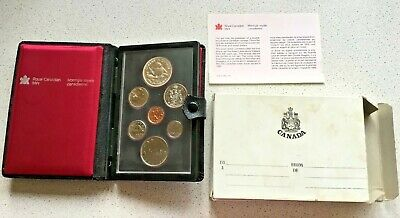 £20 • Buy 1979 Proof 7 Coin Canadian Year Set With Silver Dollar