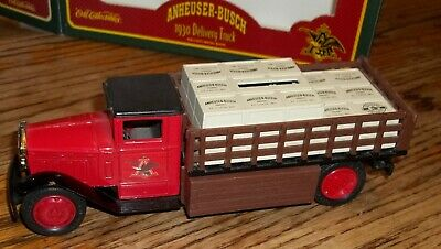 $ CDN13.09 • Buy 1995 ERTL Collectibles Anheuser Busch Budweiser 1930 Delivery Truck Bank
