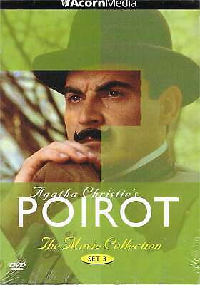 Agatha Christie's Poirot Movie Collection Set 3 (Peril At End House, Dumb Witnes • 50.25£