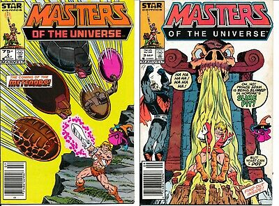 $15.97 • Buy Masters Of The Universe 2 And 3 Newsstand Variants Skeletor Star Marvel Comics