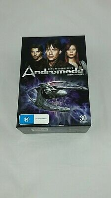 Andromeda Complete Series - 30 Discs - Includes Special Features - Over 83 Hours • 65£