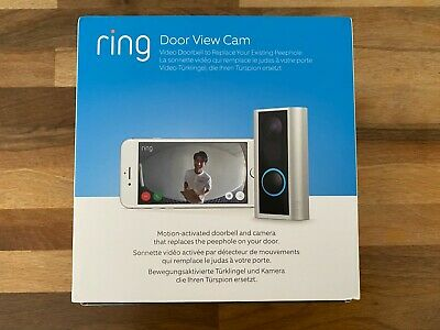 Ring Door View Cam - Door Peephole Camera HD Video Two-Way Talk Cam • 89£