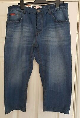 Lee Cooper Denim Below The Knee Light Wash Size Medium RRP £46.99 • 5.99£