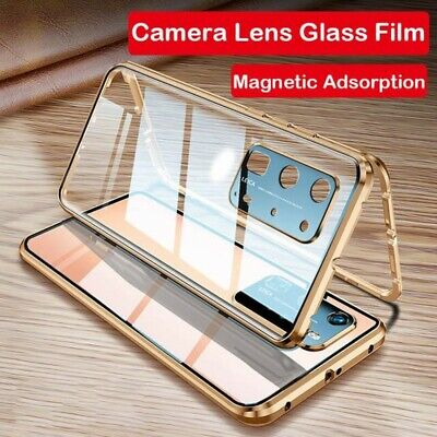 Case For Huawei P40 Pro 360° Tempered Glass Cover Magnetic Protective Adsorption • 6.99£