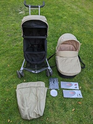 Micralite Toro Single Pushchair Plus Carry Cot Including Adapters And Footmuff.  • 20£