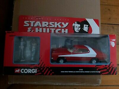 Corgi Classics 57402 Starsky And Hutch Ford Gran Torino With Metal Figures Boxed • 30£