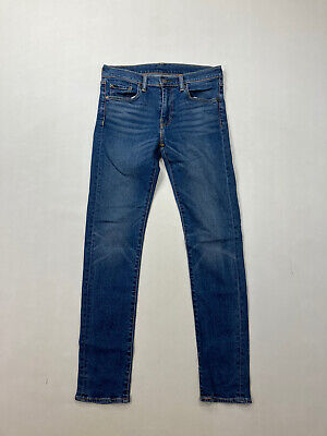 LEVI 519 SKINNY Jeans - W30 L32 - Blue - Great Condition - Men's • 29.99£
