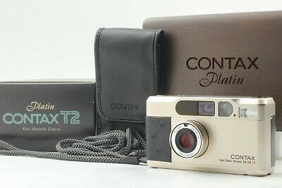 $ CDN2122.89 • Buy [Rare Top MINT In BOX] CONTAX T2 Platin Limited 35mm Film Camera From JAPAN #252