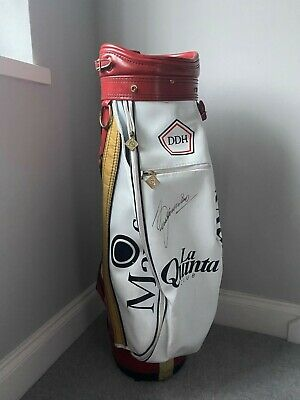Genuine SEVE BALLESTEROS Signed Golf Bag Memorabilia Bought From A Charity Aucti • 395£