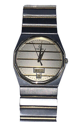 $1299.99 • Buy Men's Concord Mariner SG Watch Two Tone Stainless W/18K Bezel & Link Inserts