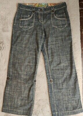 Next Womens Slouch Jeans Size 14. Exc Condition. Nice Button & Stitching Detail • 1.60£
