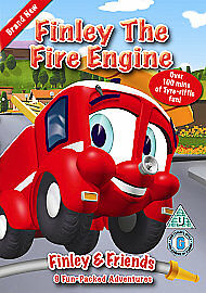 DISC ONLY ....Finley The Fire Engine DVD • 1.25£