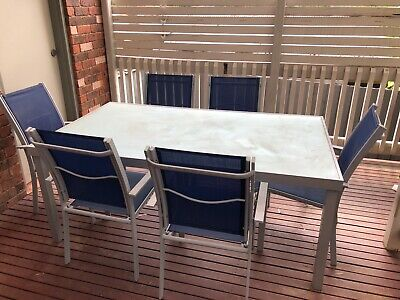 AU87.50 • Buy 7 Piece Outdoor Furniture Setting (table And Chairs)
