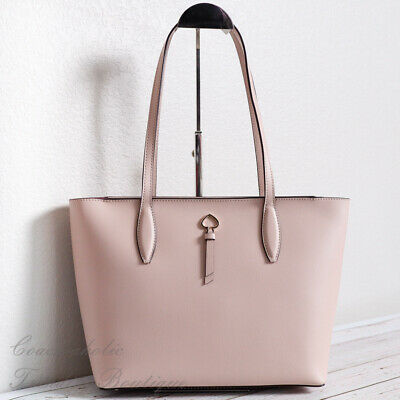 $ CDN129.53 • Buy NWT Kate Spade Adel Small Leather Tote Shoulder Bag In Warmbeige
