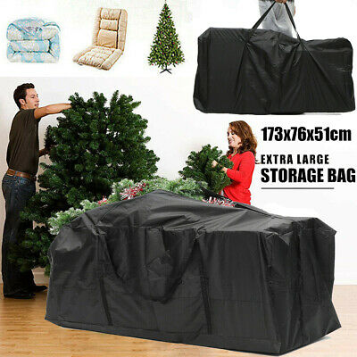 Extra Large Xmas Tree Storage Bag For Christmas Tree Decoration Zip Up Bag,173cm • 15.18£