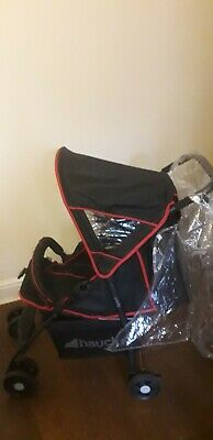 Hauck Pushchair Black And Red • 10£