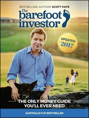 AU20.49 • Buy The Barefoot Investor Scott Pape The Only Money Guide You'll Ever Need