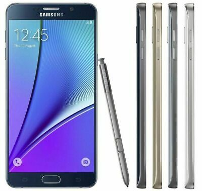 $ CDN108.44 • Buy Samsung Galaxy Note 5 N920-32GB-Verizon-Unlocked-Shadow Screen 9/10-W/Warranty