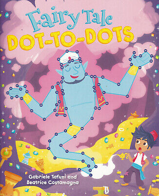 Fairy Tale Dot-to-dot Book, Full Colour Paperback, 96 Pages Age 4+ • 4.99£