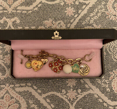 Authentic Juicy Couture Charm Bracelet • 45£