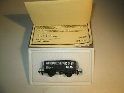 DAPOL OO GAUGE  ' WHITSTABLE SHIPPING Co.' LIMITED EDITION WAGON  SUPER RARE • 29.95£