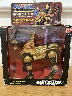 $99.99 • Buy Masters Of The Universe Night Stalker Evil Armored Battle Steed NIB Mattel 1984
